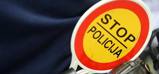 stop policija kazne