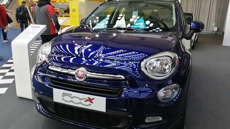 fiat 500x sajam automobila beograd 2018