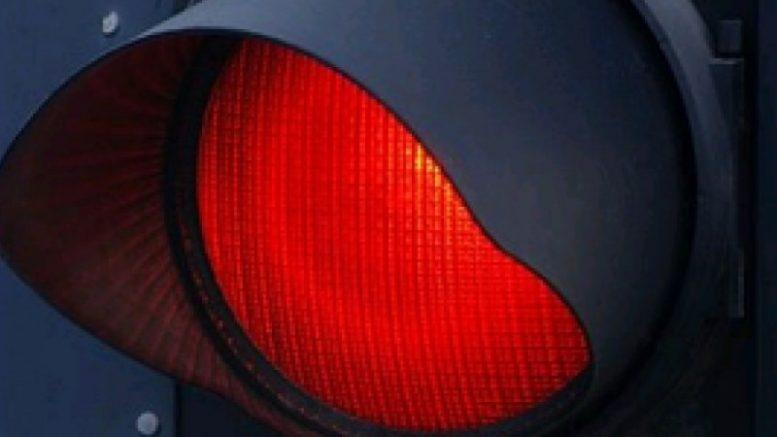 kazneni poeni za crveno svetlo
